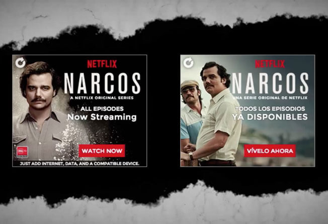 NARCOS campaign WINS Webby